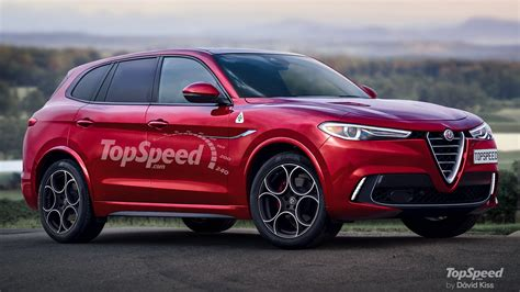 2023 Alfa Romeo Large Suv  Top Speed