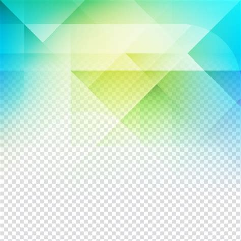 Abstract Blue Shapes Background by Yellow And Blue Polygonal Shapes For An Abstract