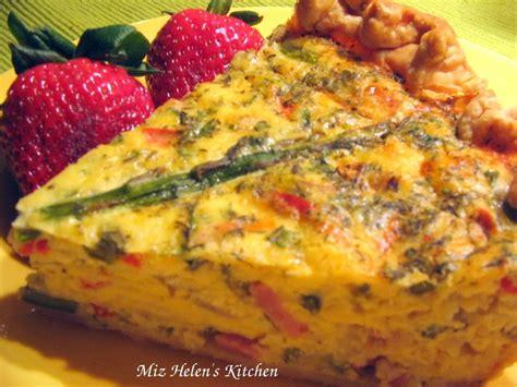 cottage ham miz helen s country cottage ham and asparagus quiche