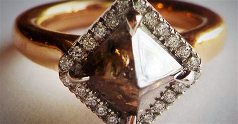 unusual   special engagement rings