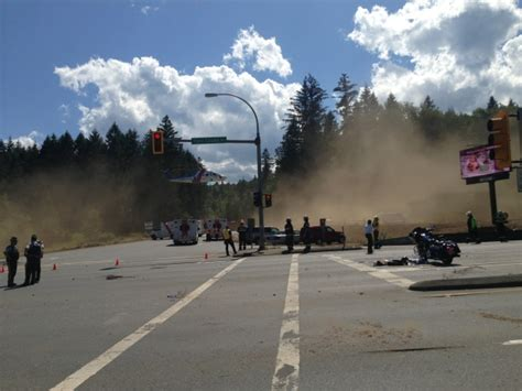 Man Killed In Motorcycle Crash Near Nanaimo Identified