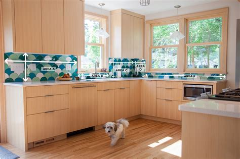 how to measure for kitchen backsplash how to measure your kitchen backsplash
