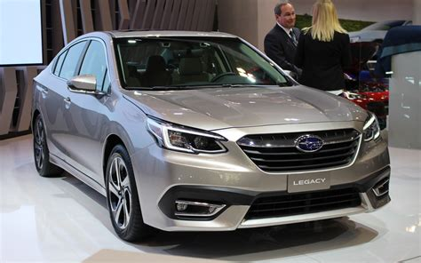 subaru legacy presented   toronto auto show