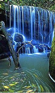 Download Blue Waterfall Mobile Wallpaper | Mobile Toones