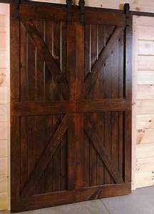 Barn door kits by timberhaven for Custom barn door kits