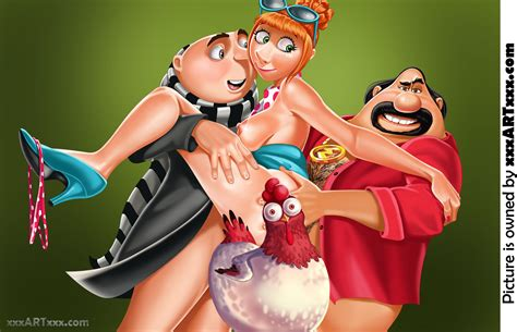 Despicable Me 2 Double Penetration Censored By Rzhevskii