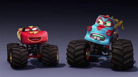 mater monster truck videos cars disney video uk
