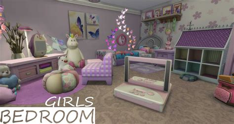 Sims 4 Home Decor Ideas : Sims 4 Kids Room At Home Design Concept Ideas