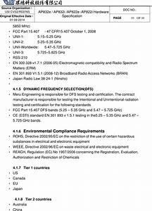 Meru Networks Ap822e Dual Radio Access Point User Manual