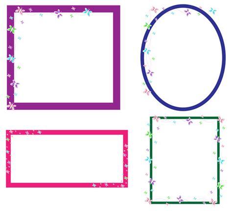 cornici clipart gratis cornici farfalla clip immagine gratis domain