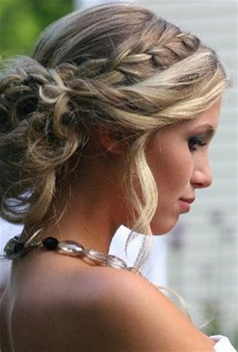 Updo Hairstyles With Braid by Braid Updo Hair Styles For Wedding Prom Popular Haircuts