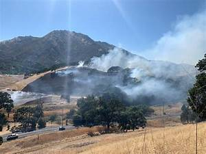 Hot round causes fire near Mt. Diablo State Park - SFGate
