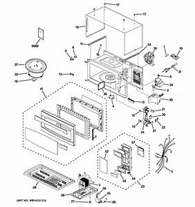 Microwave Diagram  U0026 Parts List For Model Pem31sm3ss Ge
