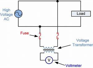 Potential Transformer Circuit Diagram
