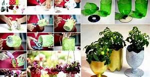 Pflanzen Bewässern Pet Flaschen : basteln mit pet flaschen nachhaltig leben basteln mit pet flaschen pet flaschen und flaschen ~ Whattoseeinmadrid.com Haus und Dekorationen
