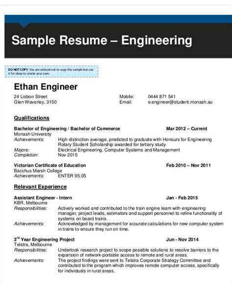 aeronautical engineer fresher resume format  resume
