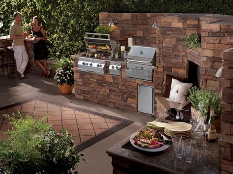 bbq kitchen ideas backyard bbq ideas for small area call rock
