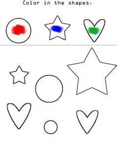 preschool colors worksheets bing images color