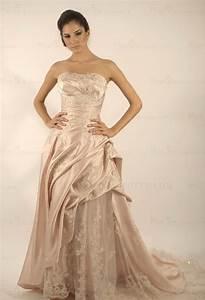 Robe De Mariée Champagne : robe de mariee couleur champagne ~ Preciouscoupons.com Idées de Décoration