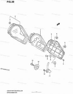 Suzuki Motorcycle 2002 Oem Parts Diagram For Speedometer