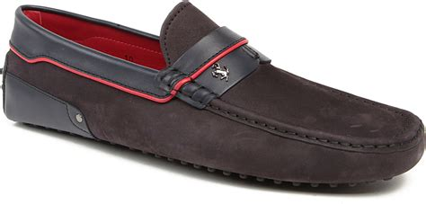 Tods ferrari dark blue shoes loafers for men. Tod's Piped Ferrari Driving Shoes in Brown for Men | Lyst