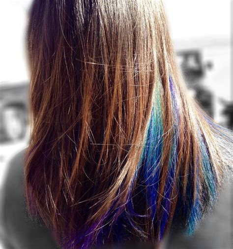 Dye Hair by That Peacock Hair Tho Probably One Of My Favs Dyed