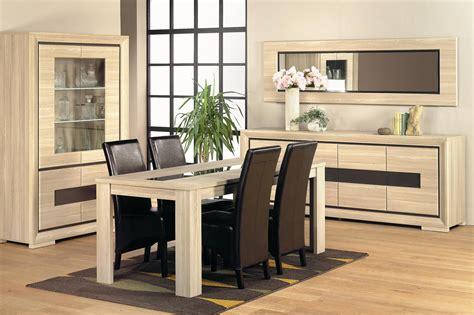 chaises cuisine fly salle à manger complète contemporaine coloris détroit