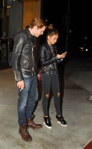 Sarah Hyland and Dominic Sherwood Night out