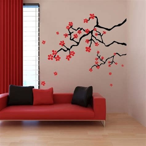 japanese wall decoration ideas wall decal design japanese cherry blossom wall decal breathtaking japanese cherry blossom wall