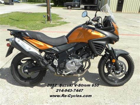2012 Suzuki V Strom 650 For Sale by Suzuki V Strom Motorcycles For Sale In Dallas