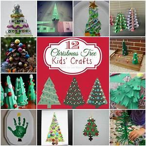 Teach, Me, Tuesdays, 12, Christmas, Tree, Kids, Crafts
