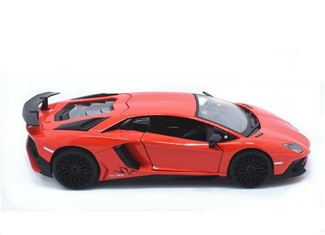 lamborghini aventador sv roadster model car bburago 1 24 lamborghini aventador lp750 4 sv diecast metal model roadster car ebay