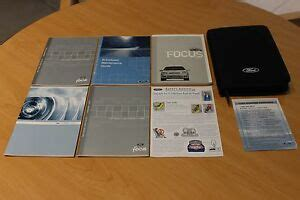 ford focus owners manual set  case ebay