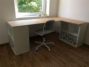 Ikea Schreibtisch Hack : ikea hack kallax schreibtisch jugendzimmer in 2019 ~ Watch28wear.com Haus und Dekorationen
