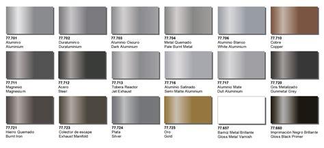 metal colors creative models