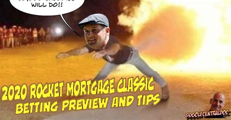 2020 Rocket Mortgage Classic Betting Preview And Expert ...