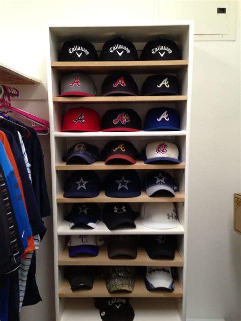 25 unique baseball hat racks ideas on hat