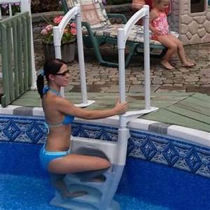 Sécurité Piscine Hors Sol : echelle piscine hors sol h2o double s curit enfants ~ Dailycaller-alerts.com Idées de Décoration