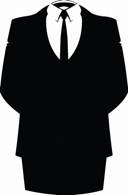 Anonymous Costume Homme Suit Down Attack Megaupload