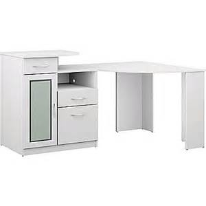 bush vantage corner desk pure white staples 174