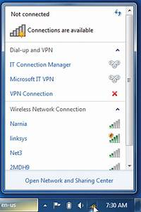 The Cable Guy: Connecting to Wireless Networks with Windows 7