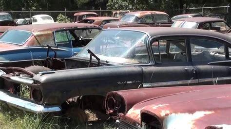 gearhead field  dreams antique car salvage yard youtube