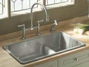 kohler k 6625 0 iron tones smart divide kitchen sink white double bowl amazon canada
