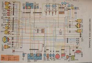 Kawasaki Kz550 Wiring Diagram Of The Electrical System  59265
