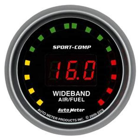 auto meter 3379 sport comp series digital 2 1 16 quot street wideband a f kit