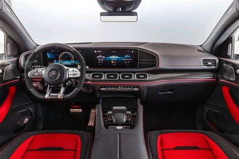 The rear design conveys more elegance and lightness with its new, flatter and now. 2021 Mercedes-Benz AMG GLE 53 Coupe Interior Photos | CarBuzz