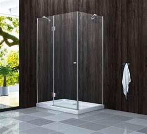 Dusche Ohne Duschtasse : genera 120 x 90 x 190 glas dusche duschkabine duschwand duschabtrennung ebay ~ Indierocktalk.com Haus und Dekorationen