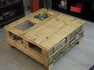 Table Basse Palettes : table basse par tito sunj ~ Melissatoandfro.com Idées de Décoration