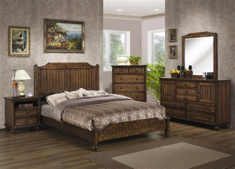 Rustic Style Master Bedroom Design Decor