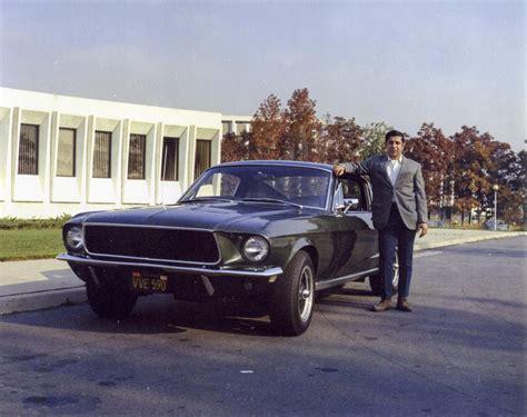 From Bullitt by Mcqueen S 1968 Bullitt Mustang Revealed At The Naia Show